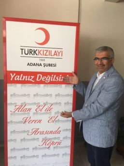 Kızılay Adana'yı İyilik Yapmaya Davet Ediyor