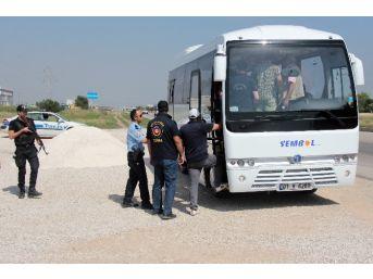 Miting İçin Adana'ya Gelen Hdp'liler Şehre Alınmadı
