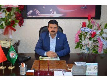 Besni Ziraat Odası Başkanı İsmail Sümer,