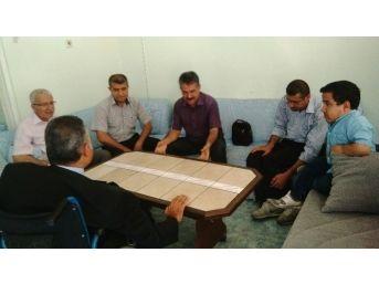Sgk İl Müdürü Tekin, Anadolu Engelliler Derneğini Ziyaret Etti