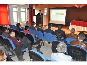 Patnos'ta İş Sağlığı Ve Güvenliği Eğitimi