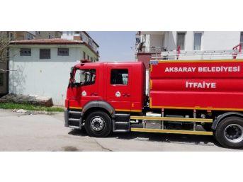 Aksaray'da Trafoda Yangın
