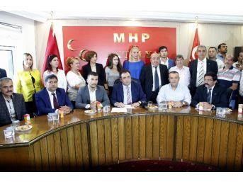 """mhp Antalya İl Başkanı Aksoy:"