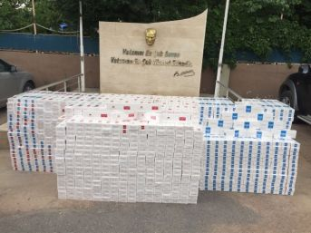 Batman'da 29 Bin Paket Kaçak Sigara Ele Geçirildi