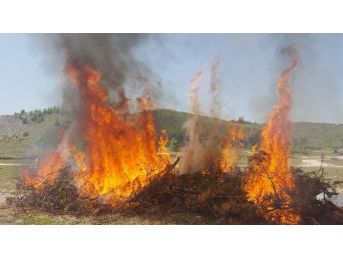 Orman Yangını Tatbikatı Gerçeği Aratmadı
