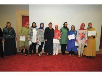 Çan'da İşkur Kursiyerleri Sertifikalarını Aldı