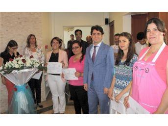 Eceabat'ta İşkur'un Aşçı Yamağı Kursu Tamamlandı