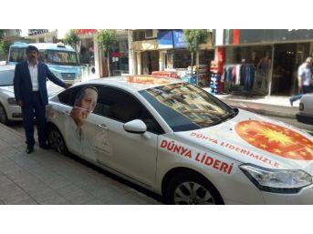 Erdoğan'a Destek İçin Çıktığı Türkiye Turuna Trakya'da Devam Ediyor