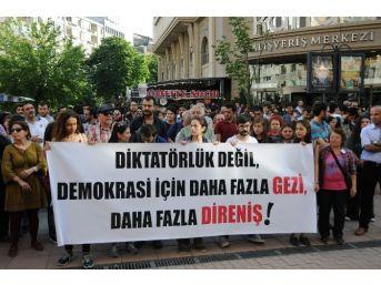 Eskişehir'de 'gezi' Eylemleri 3'üncü Yılında Anıldı