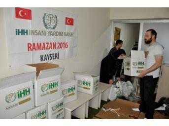 Kayseri İhh Ramazan Ayında Yine Aktif