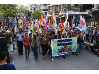 Samsun'da Gezi Parkı Yürüyüşü