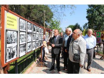 """Vezirköprü'de """"geçmiş Zaman Olur Ki"""" Fotoğraf Sergisi"""