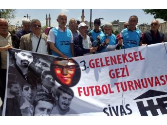 Sivas'ta Gezi Olaylarının 3'üncü Yıl Dönümü Eylemi
