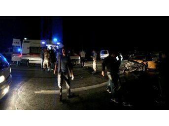 Erciş'te Trafik Kazası 8 Yaralı