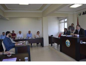 Alaplı Belediye Meclis Toplantısında 'deniz Kumu' Tartışması