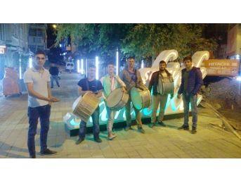 Sandıklı'da Ramazanın İlk Sahurunda Davulcular Sokaklara Dağıldı