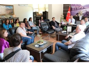 Gürcü Türkoloji Öğrencileri Amasya'da