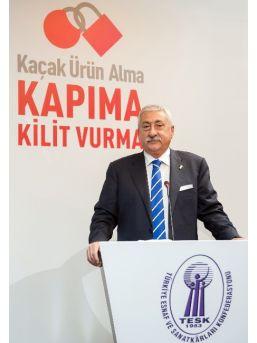 """Tesk Genel Başkanı Palandöken: """"kaçak Sigara Tekrar Artışa Geçti"""""""