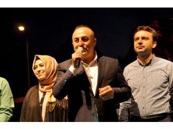 Bakan Çavuşoğlu Gazipaşa'da İftar Programına Katıldı