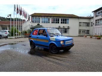 Giresun'da Öğrencilerden Yerli Elektrikli Otomobil;