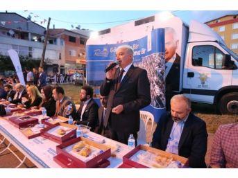 Başakşehir'de Sokak İftarları Başladı
