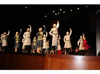 Kafkas Halk Dansları Gecesi 'amra' İle Esti