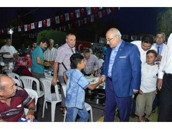 Başkan Kocamaz, Bozyazı'da İftar Programına Katıldı