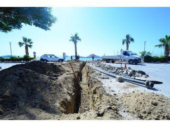 Turgutreis'te 4 Km İçme Suyu Hattı Yenileniyor
