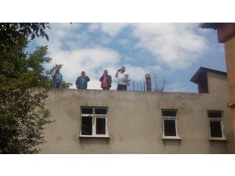 Telefon Görüşmesi İçin Çatıya Çıkıyorlar