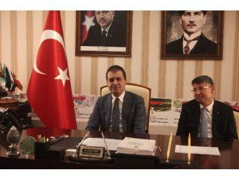 Bakan Çelik Ak Parti Adana İl Başkanlığı'nı Ziyaret Etti