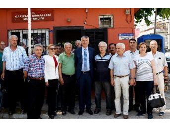 Başkan Karalar, Gazipaşa Mahallesi'nde Asfalt Denetiminde