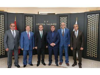 Başkan Özdemir'den Vali Işık'a Hayırlı Olsun Ziyareti