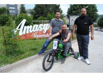 Üniversiteliler Hibrit Bisiklet Yaptı