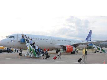 Gazipaşa-alanya İlk Airbus A321'ı Karşıladı