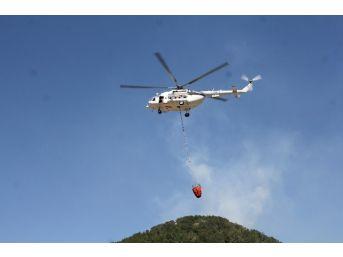 Gazipaşa'daki Orman Yangını Kontrol Altına Alındı