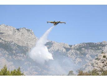 Kemer'deki Orman Yangını Kontrol Altına Alındı