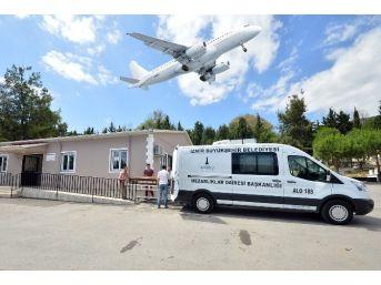 Büyükşehir'in Uçakla Cenaze Nakli Sistemi Yaygınlaşıyor