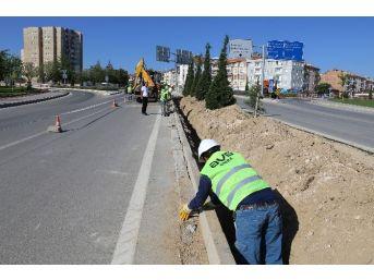 Karaman'da Aydınlatma Çalışmaları