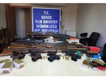 Gebze'de Silah Kaçakçılığı Yapan 7 Kişi Yakalandı