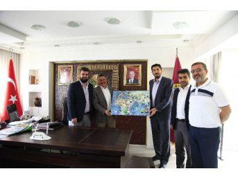 Başkan Tutal'a İmh'den Ziyaret