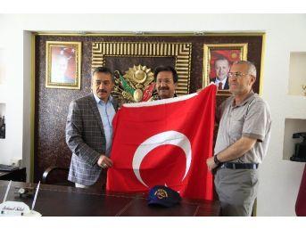 Thk Seydişehir Şube Başkanı Acar'dan Başkan Tutal'a Ziyaret