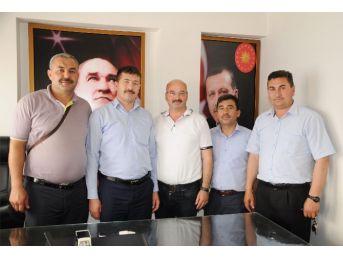 Bağımsız Diyanet-sen'den Başkan Topçu'ya Ziyaret