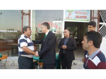 Kalkınma Bakan Yardımcısı Coşkun, Mersin'in İlçelerini Gezdi