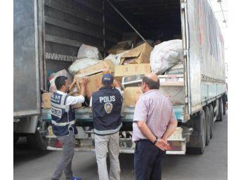 Osmaniye'de 352 Bin Paket Kaçak Sigara Ele Geçirildi