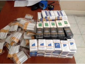 Uşak'ta Kaçak Sigara Satışına Baskın