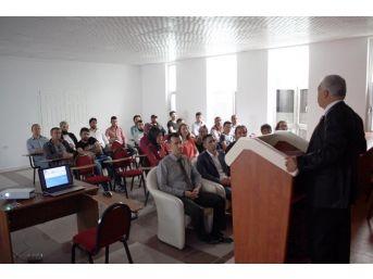 Sorgun'da Girişimcilere Yönelik Kosgeb Bilgilendirme Toplantısı Yapıldı