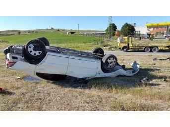 Yozgat'ta İki Ayrı Trafik Kazası : 1 Ölü 2 Yaralı