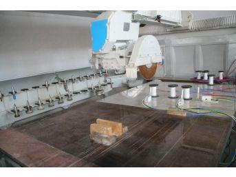 Devrek'te Sıfır Atıklı Granit, Mermer Ve Doğal Taş İşleme Makinesi Büyük İlgi Görüyor