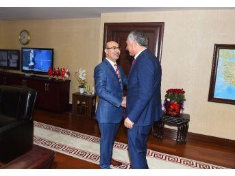Karalar'dan Vali Demirtaş'a 'hayırlı Olsun' Ziyareti