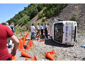 Yolda Çizgi Çalışması Yapan İşçi Kazada Öldü